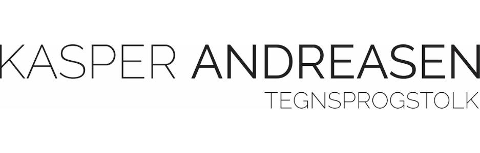 Kasper Andreasen – tegnsprogstolkning